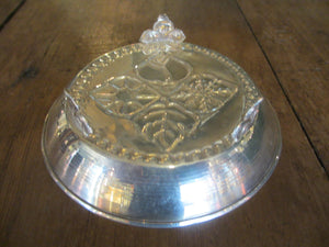 Scandinavian Silver Pin Dish 20th Century