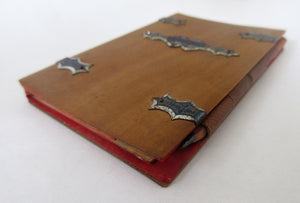 Small French Pocket Diary Antique c1824.