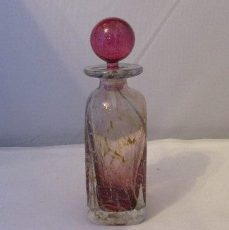 French Murano Portieux Scent Bottle Vintage c1960.