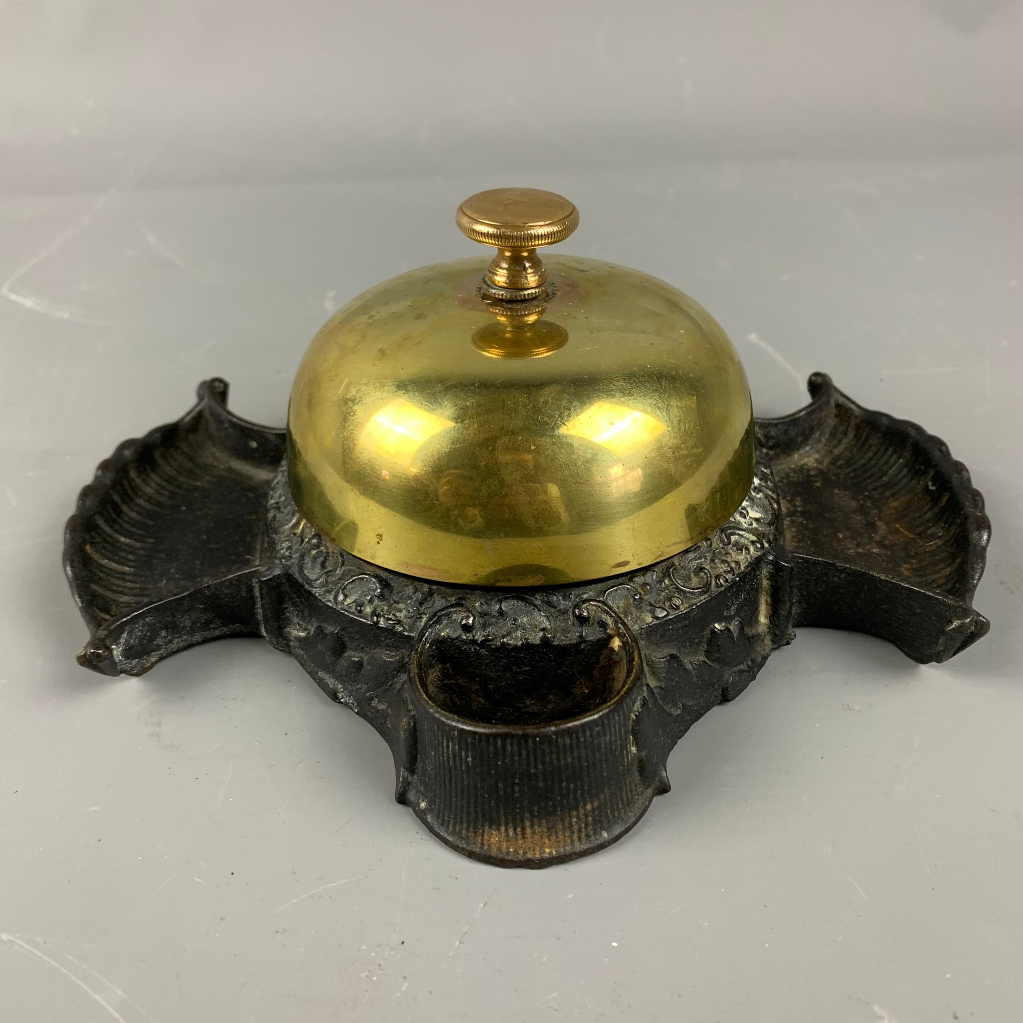 Bronze Counter Bell Antique Victorian c1893 Made By Russell And Erwin