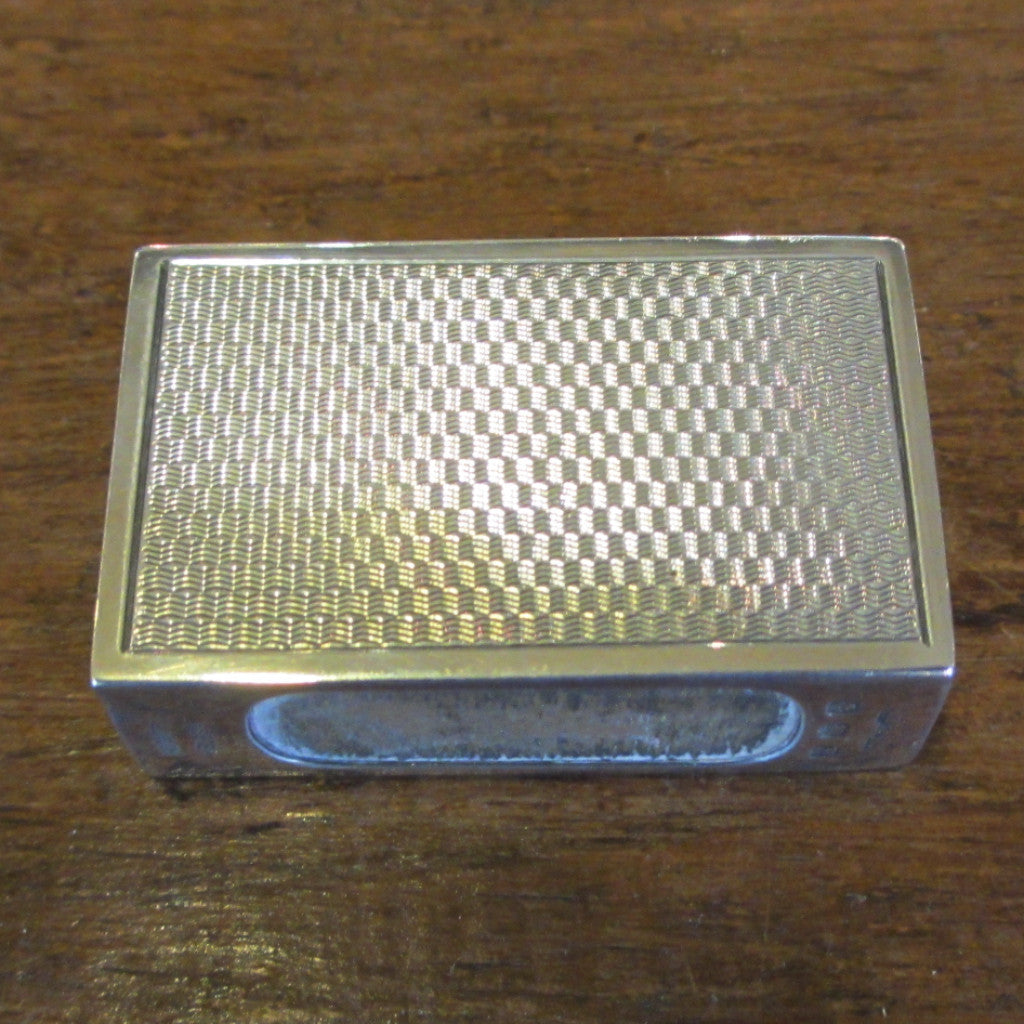 Sterling Silver Match Box Holder Hallmarked Birmingham 1926
