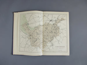 National Gazetteer Of Great Britain & Ireland Antique Victorian c.1861.