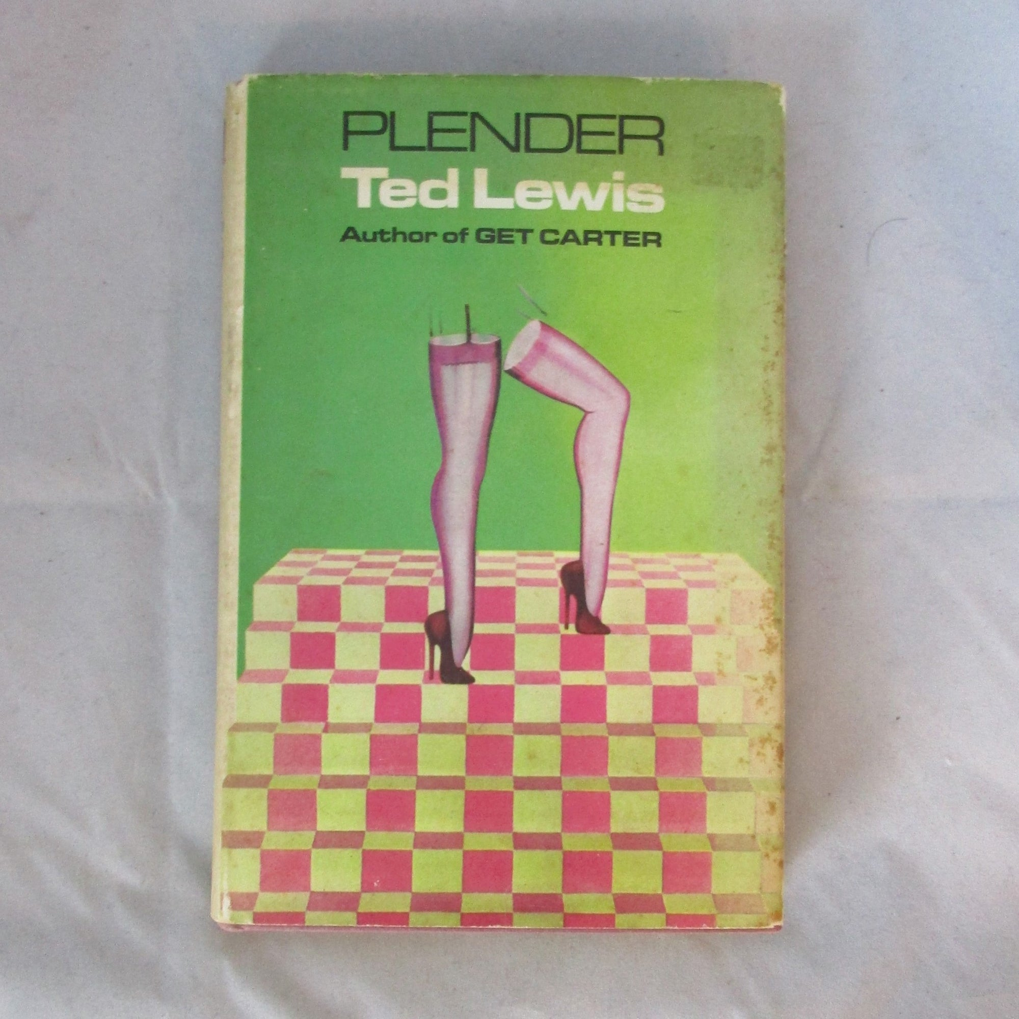 Plender by Ted Lewis 1st Edition with DJ Vintage c1971.
