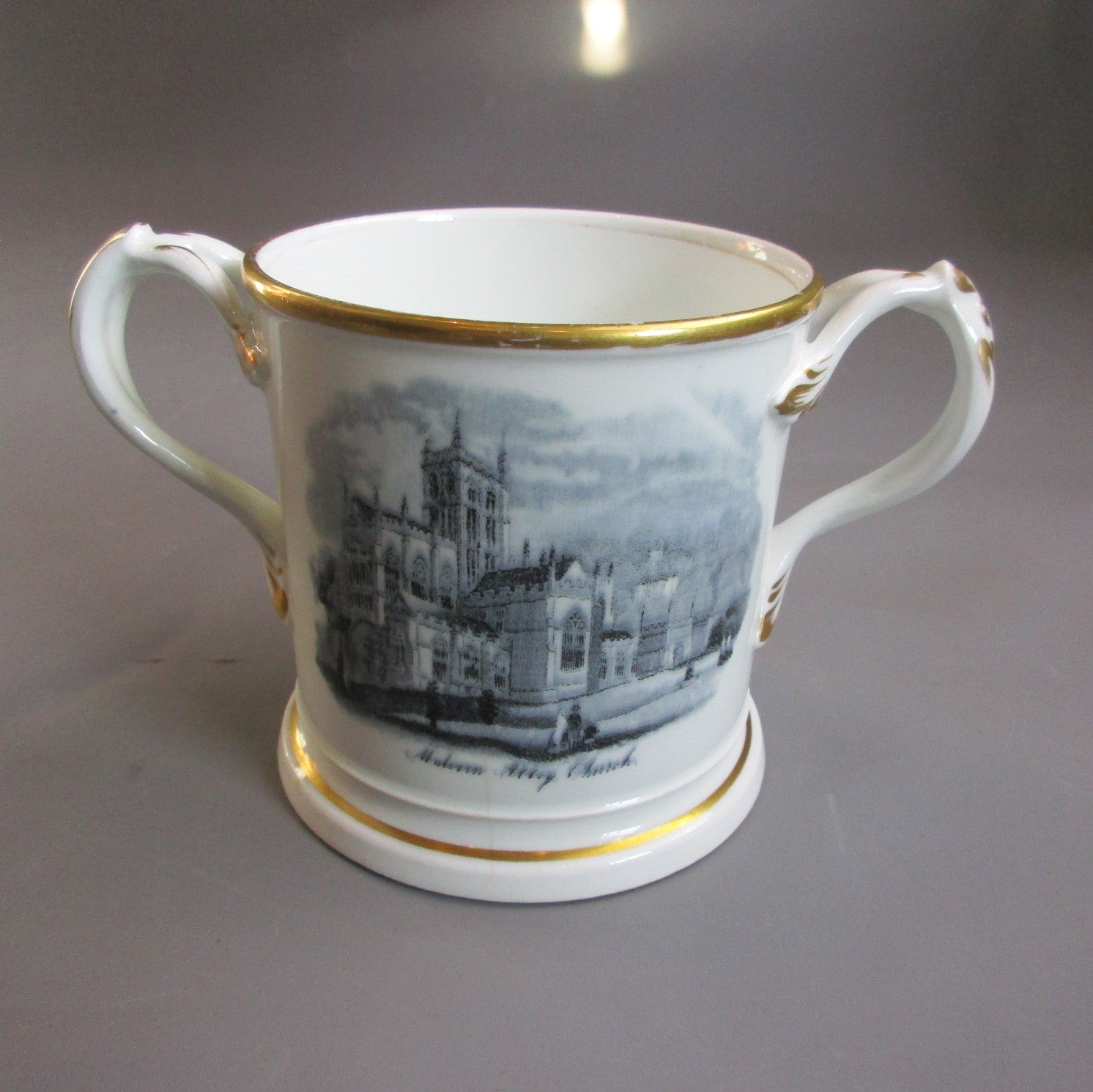 Royal Worcester Loving Cup Antique Edwardian c1910