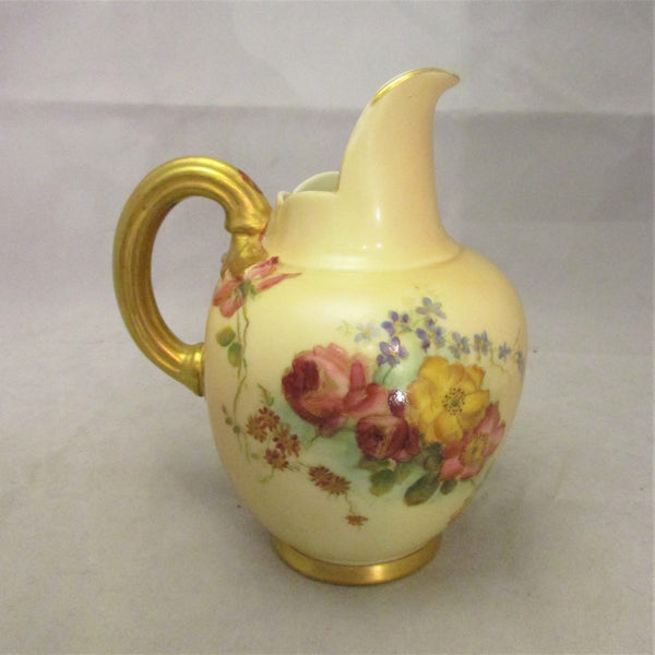 Small Royal Worcester Jug Antique c1900.