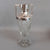 Sterling Silver Cut Glass Pineapple Vase Birmingham 1903