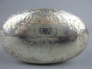 Sterling Silver Topped Jar Victorian london 1881