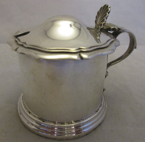 Sterling Silver Jam Dish Antique c1906.