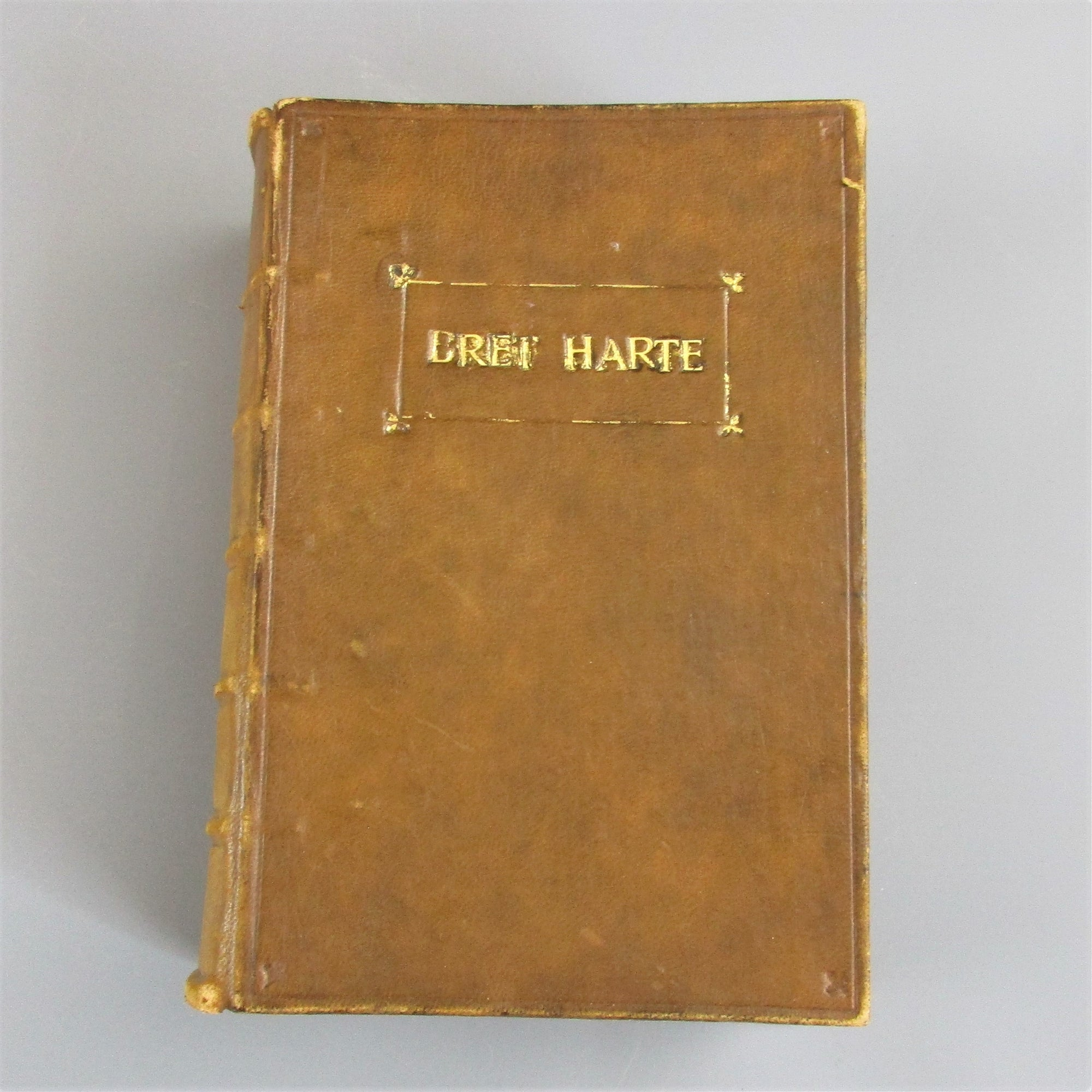The Complete Works Of Bret Harte In Prose & Poetry Antique Victorian c.1872.