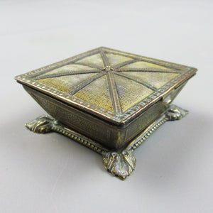 Victorian Square Trinket Box