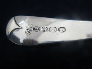 Sterling Silver Tablespoon Antique Georgian London 1826.