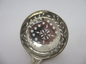 Sugar Sifter Caster Sterling Silver Spoon Antique Victorian 1873