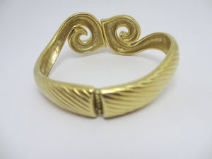 Trifari Bangle Bracelet Vintage c1970