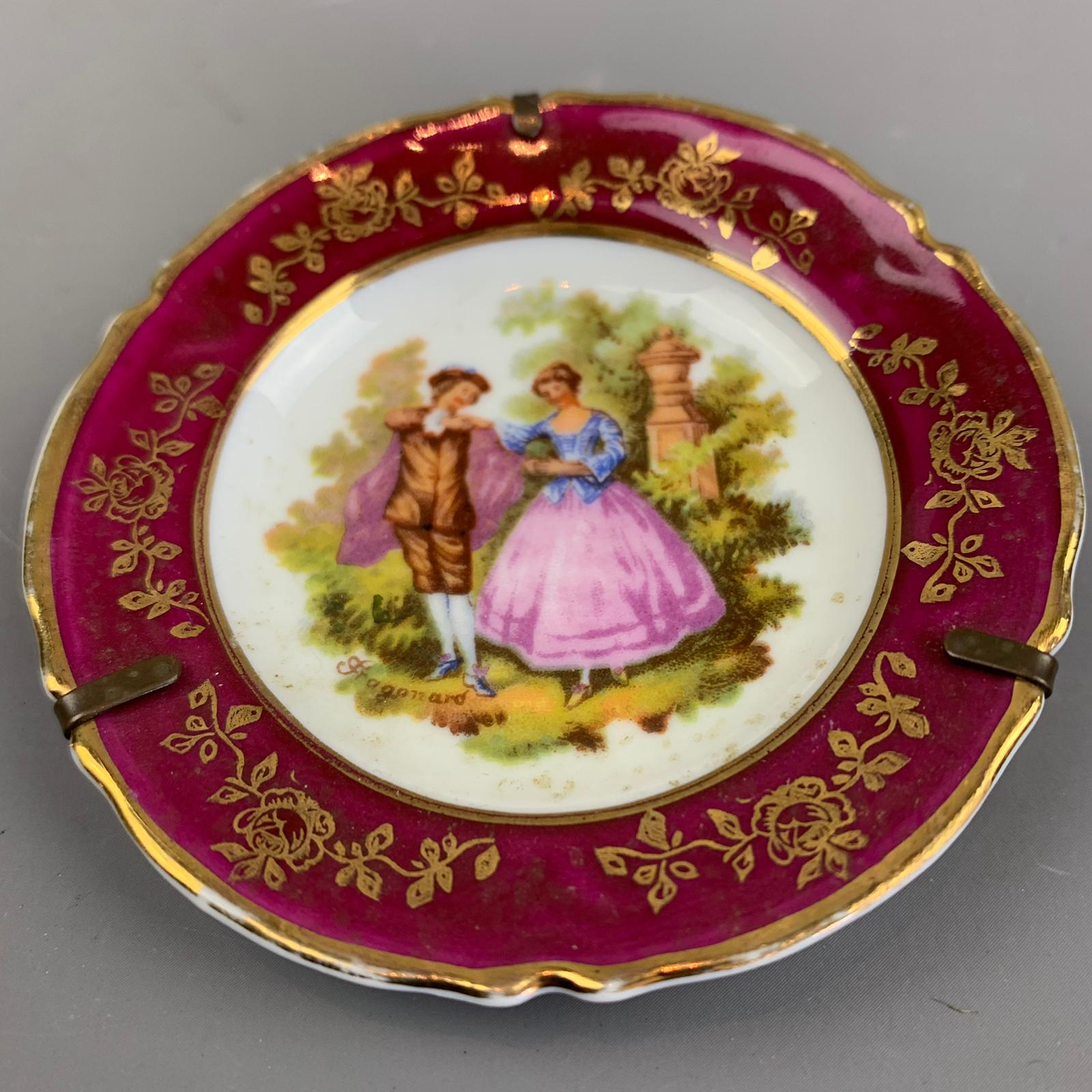 French Limoges Dish Vintage c1950