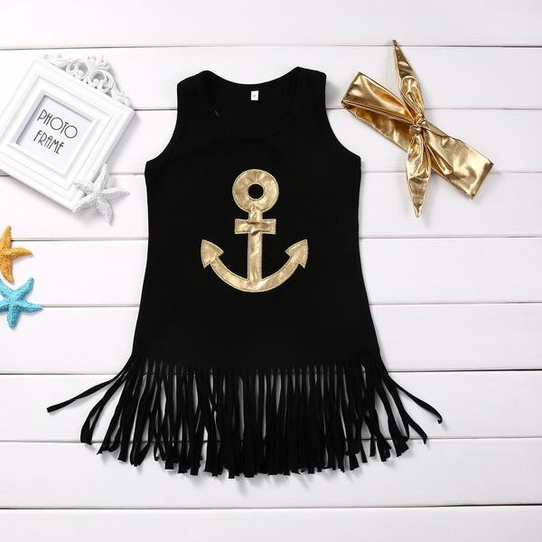 Anchor Fringe Dress
