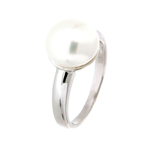 Ikecho sterling silver pearl ring