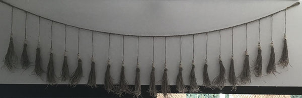 Tassle Wall Hanging - Blu Peter