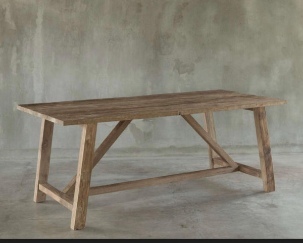 Ranna Rustic Dining Table