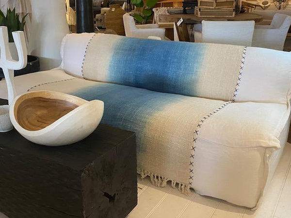Capri sofa with Linen Slipcover