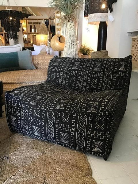 Capri Single Mud Cloth Sofa