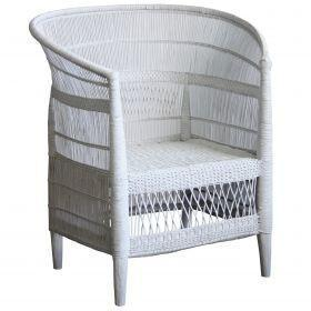 Malawi Round Back Chair - Blu Peter