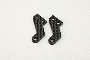 BD10 RTC GRAPHITE STEERING BLOCK PLATE (2PCS)