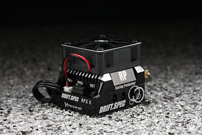 RACING PERFORMER RPX-II DRIFT SPEC 160A ESC (BLACK)