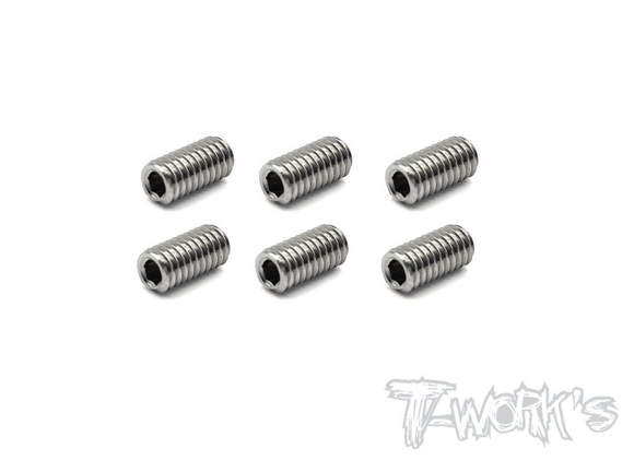 TITANIUM SET SCREW (4X8MM)