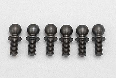 4.8MM ROD END BALLSTUD (11.5MM-6PCS) SHORT NECK