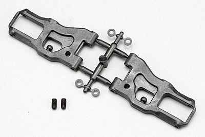 BD9 GRAPHITE FRONT LOWER ARM (53MM)