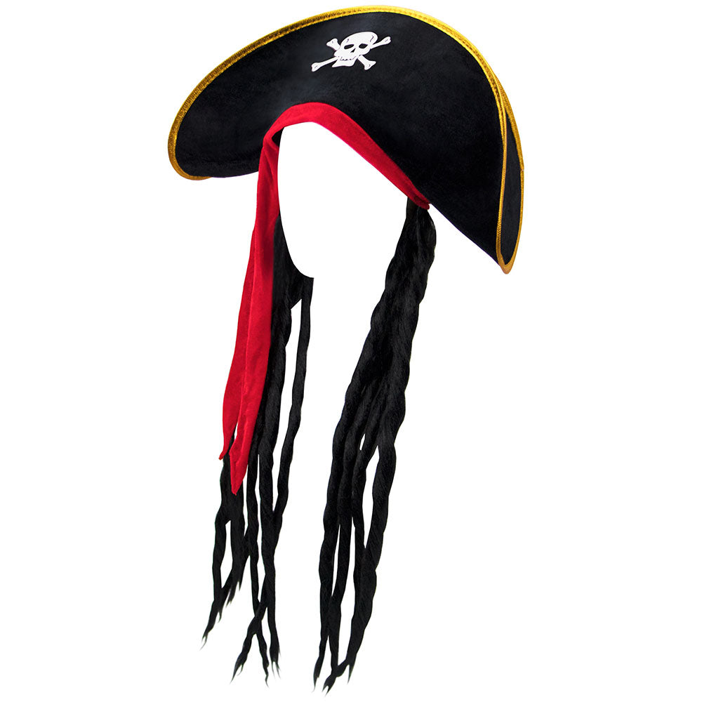 252b34be50d Child s Pirate Hat with Dreadlocks – Inspirations of Joy