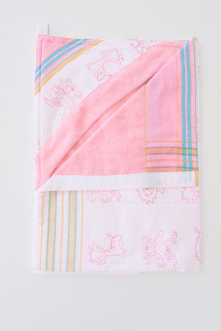 Baby and toddler hooded towels