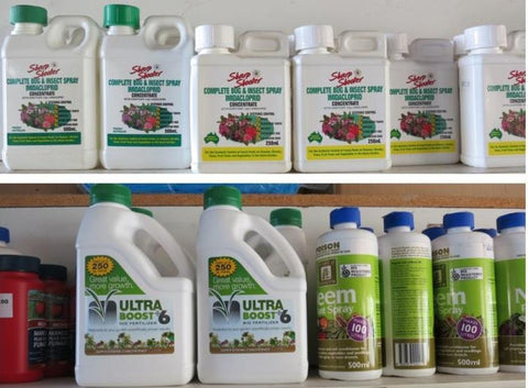 FERTILISERS, INSECTICIDES AND FUNGICIDES