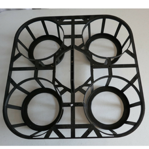 POT TRAY - 200mm x 4 holes - Carry Tray