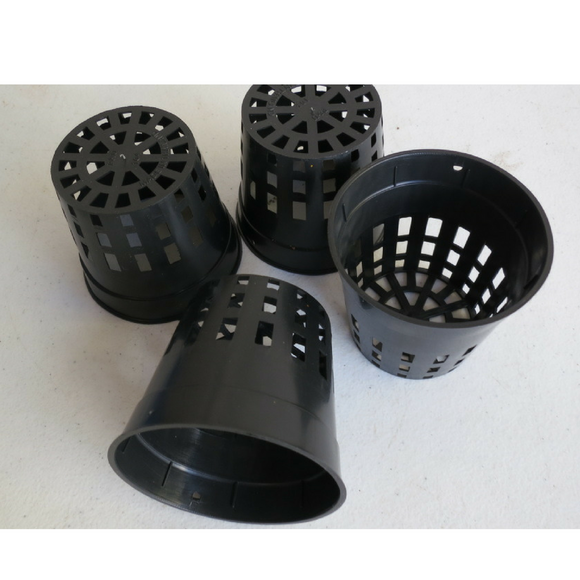 POT -  75mm  - WEB SQUAT - Pack of 10 Pots