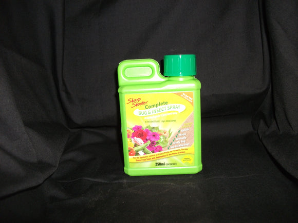 SHARP SHOOTER COMPLETE BUG & INSECT SPRAY 250ML Concentrate