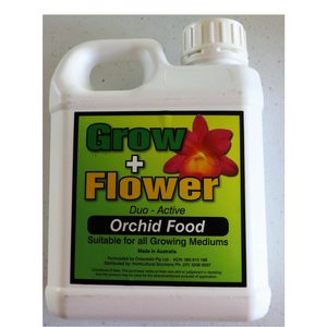 FERTILISER - GROW + FLOWER.