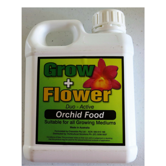 FERTILISER - GROW + FLOWER....................1 Litre