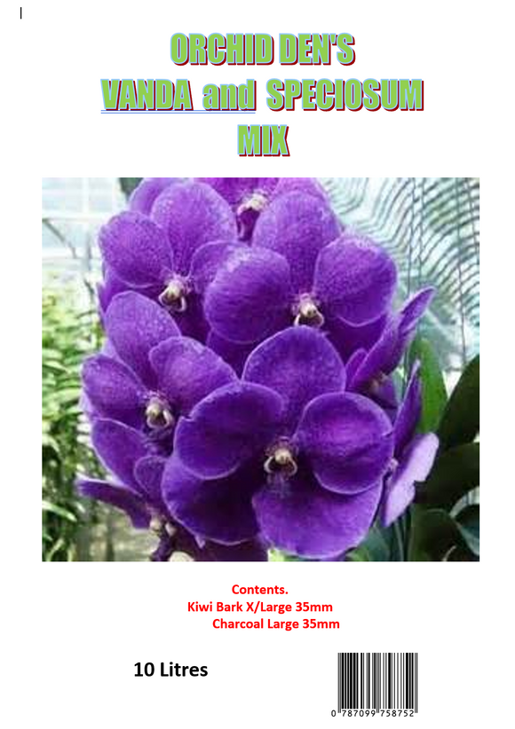 BARK - VANDA AND SPECIOSUM MIX  10 Litres