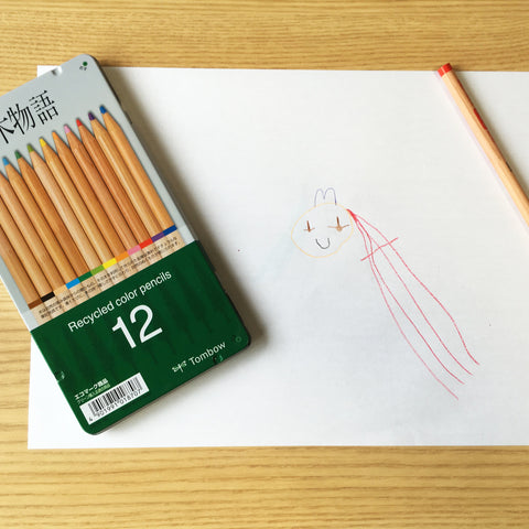 Recycled Coloured Pencil Set