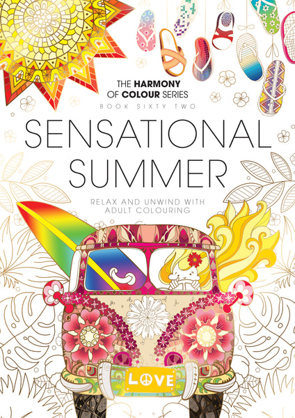 62. Harmony of Colour Book Sixty Two: Sensational Summer (PRINTABLE DIGITAL EDITION ALSO AVAILABLE!)