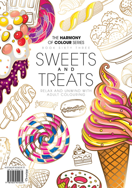63. Harmony of Colour Book Sixty Three: Sweets and Treats (PRINTABLE DIGITAL EDITION ALSO AVAILABLE!)