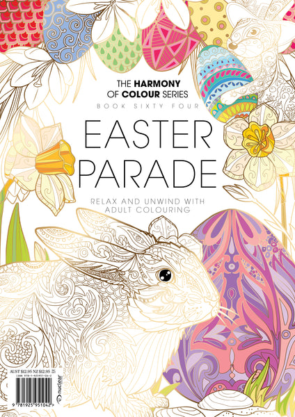 64. Harmony of Colour Book Sixty Four: Easter Parade (PRINTABLE DIGITAL EDITION ALSO AVAILABLE!)