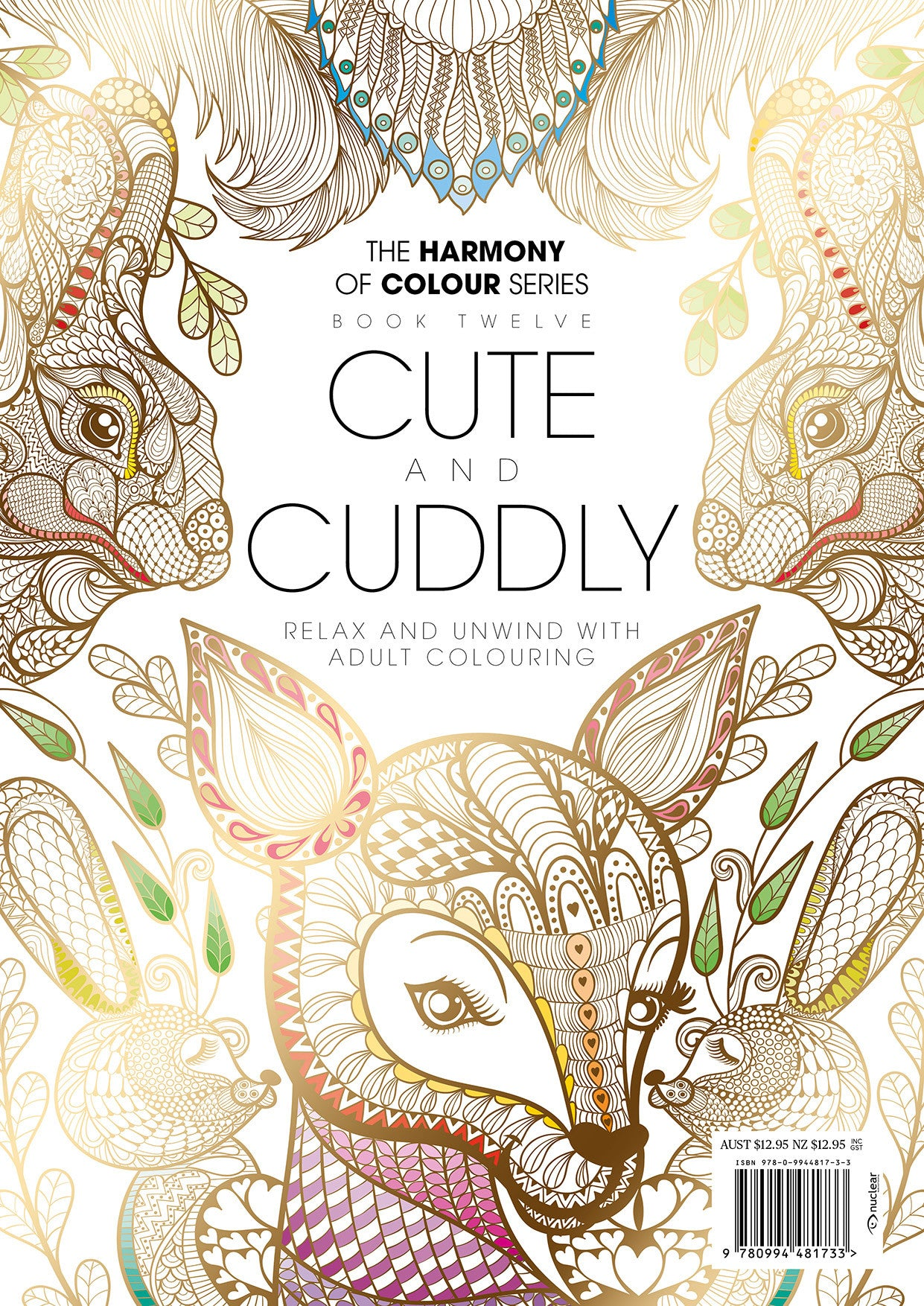 12. Harmony of Colour Book Twelve: Cute and Cuddly (PRINT EDITION ...