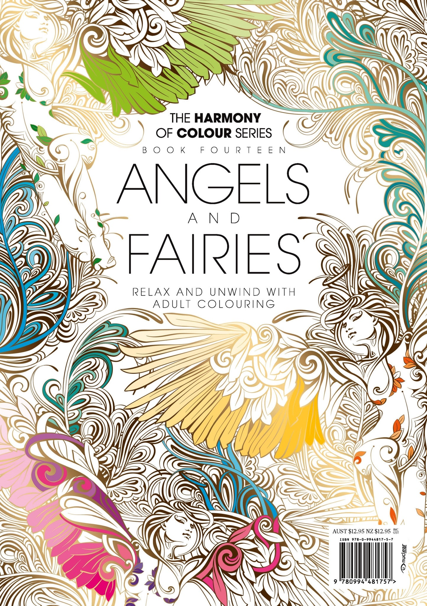 Harmony Of Colour Book Fourteen Angels And Fairies PRINT EDITION SOLD OUT