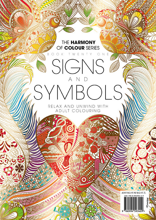 21 Harmony Of Colour Book Twenty One Signs And Symbols Print