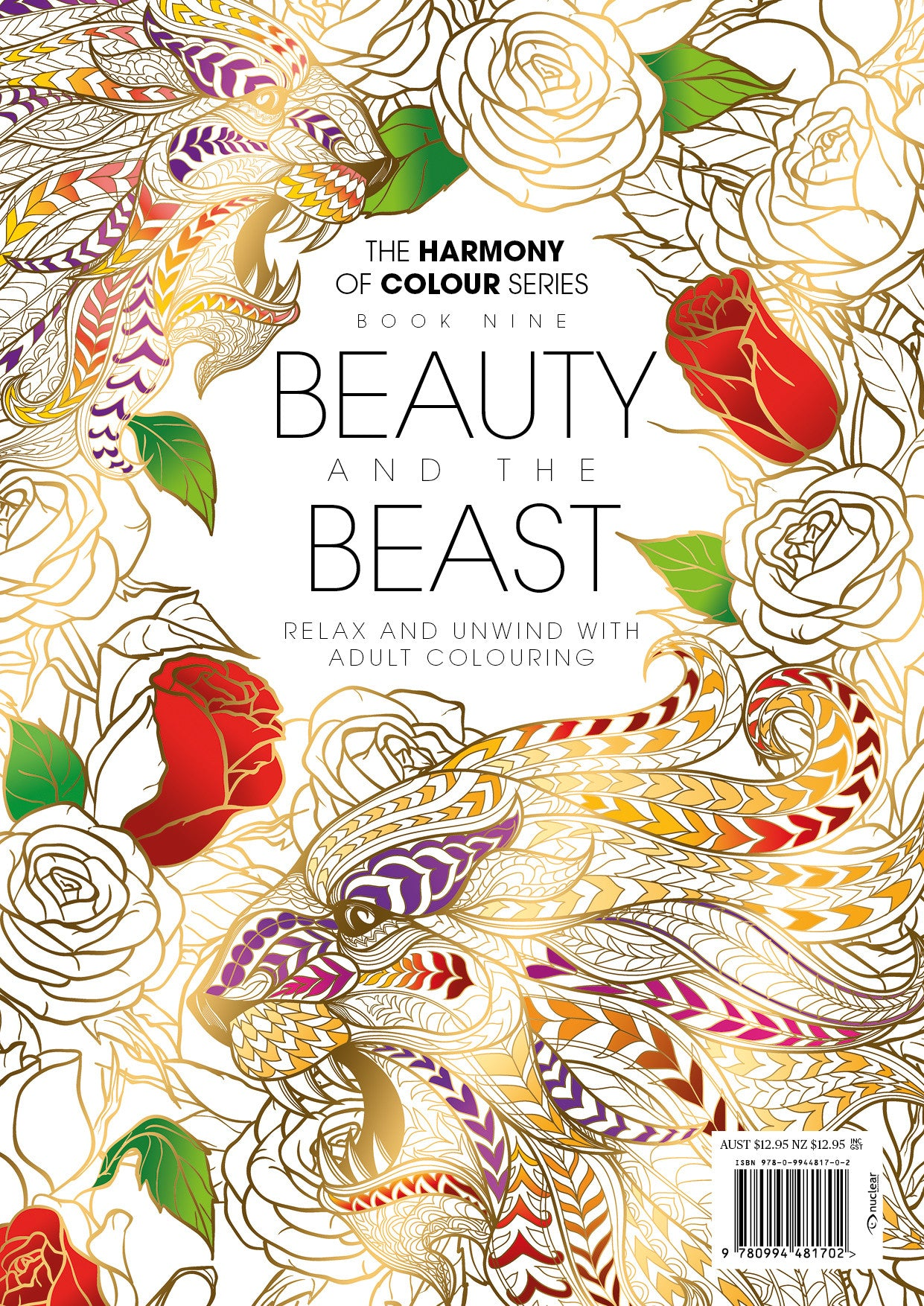 Harmony Of Colour Book Nine Beauty And The Beast PRINT EDITION SOLD