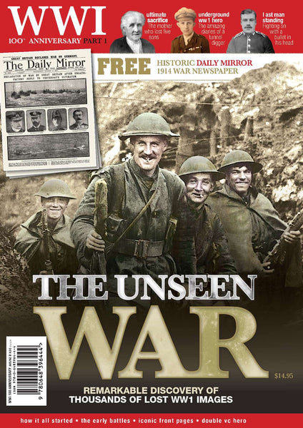 WWI 100th Anniversary Special: Part 1: The Unseen War (BONUS replica war-time newspaper)