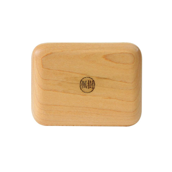 Wooden Travel Soap Case (Maple wood) 自在隨身皂盒-楓樹