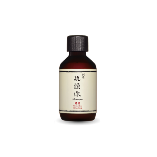 Travel: Momordica Shampoo苦瓜洗頭水 All Hair/Scalp Types 50ml